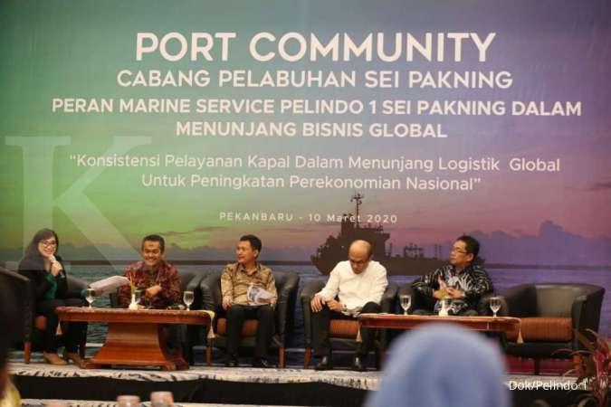 Dukung Pertumbuhan Industri, Pelindo 1 Sei Pakning Optimalkan Layanan Marine Service