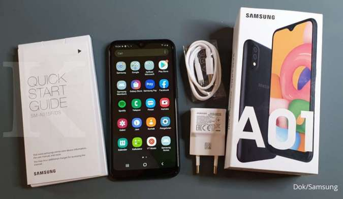 Samsung tipe Galaxy A dibanderol terjangkau, cek harga hp pintar ini di sini