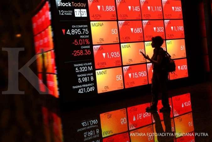 JPFA DNAR ACST IMJS BBYB SMCB IHSG MCOR Pasar saham ambles, emiten-emiten ini tetap gelar rights issue