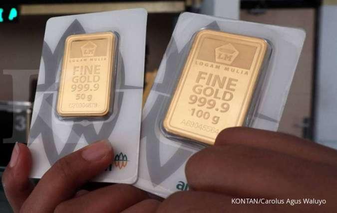 Harga Emas 24 Karat Antam Hari Ini Naik Rp 1 000 Per Gram Senin 13 April 2020