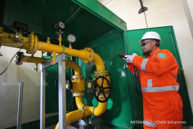 Perusahaan Gas Negara (PGAS) terus menggenjot pembangunan Terminal LNG Teluk Lamong
