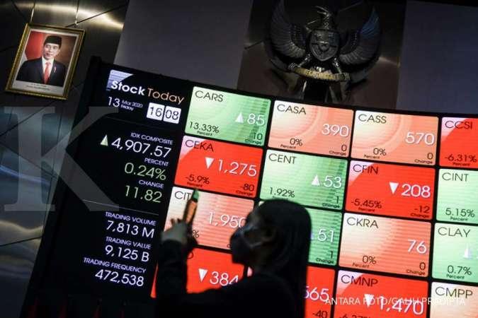 IHSG turun 4,53%, ini saham-saham LQ45 yang mentok auto rejection bawah