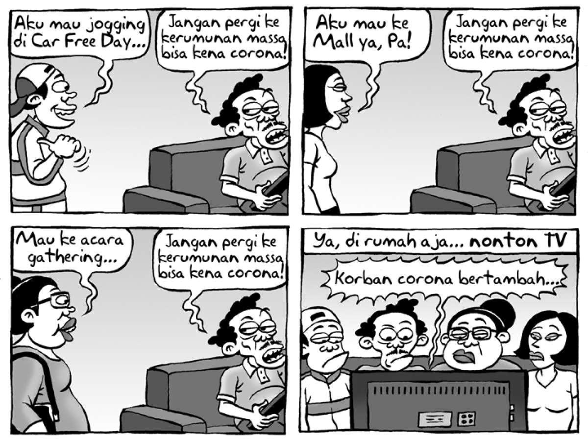 Benny Rachmadi - Hindari Dulu Kerumunan Massa, Kumpul di Rumah Saja