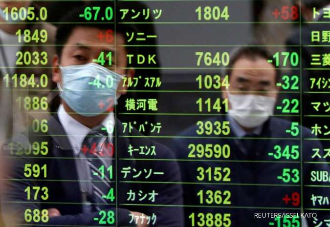 Asia Stocks Turn Cautious on Virus Surge, Geopolitics