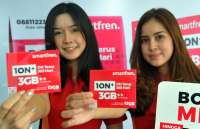 Smartfren Telecom (FREN) alami lonjakan layanan data 15% work from home