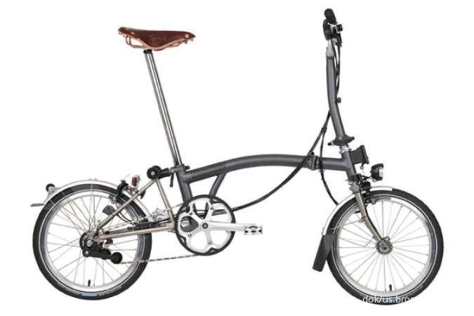 Sepeda Brompton paling laris di pasaran, cek tipe dan