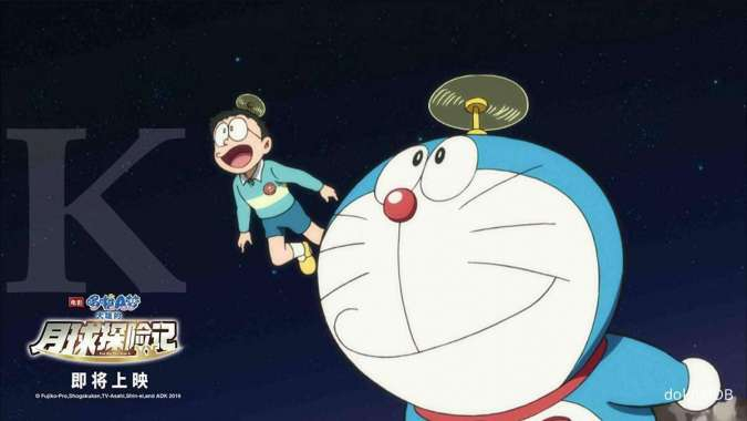 Film Doraemon: Nobita's Chronicles of The Moon Exploration tayang di CGV hari ini