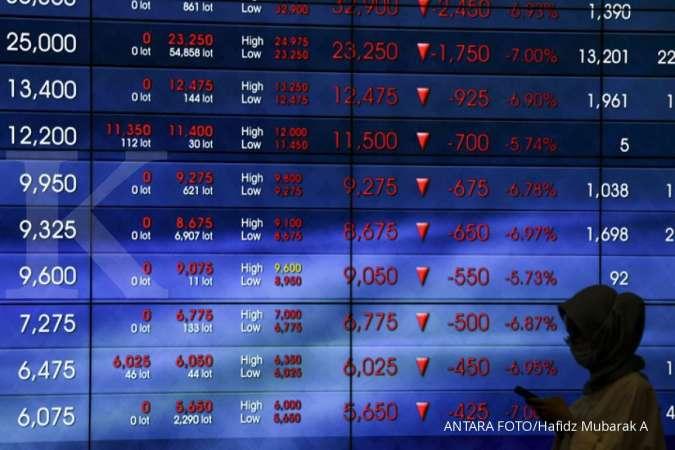Ini 10 Saham Net Sell Terbesar Asing Pada Perdagangan Kamis 16 April 2020