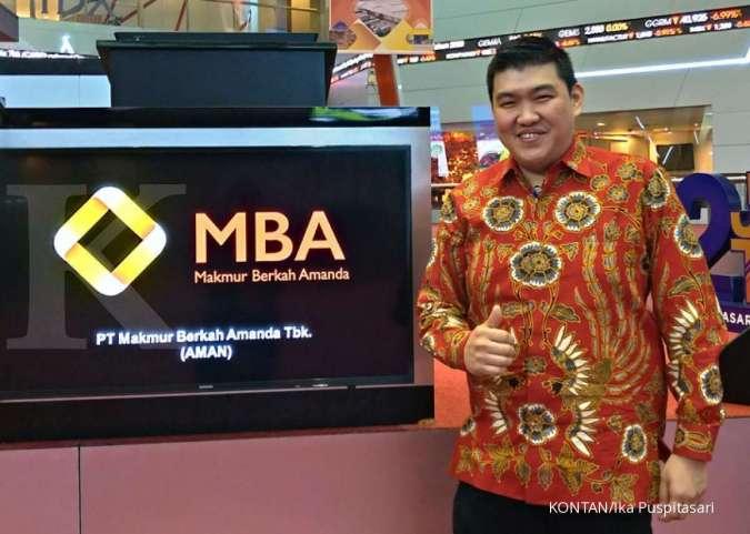 AMAN Pasar belum kondusif, Makmur Berkah Amanda (AMAN) selektif gunakan dana IPO