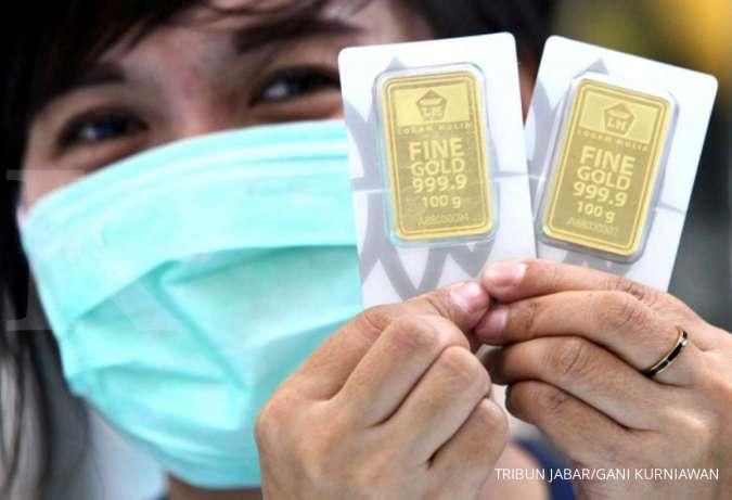 Harga emas 24 karat Antam hari ini turun Rp 10.000 per gram, Kamis 14 Januari 2020