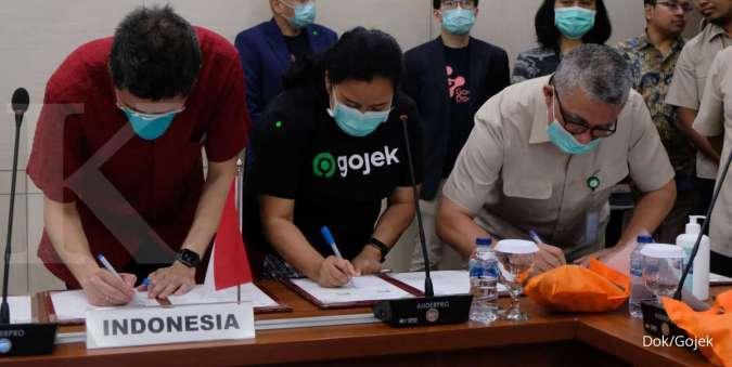 Kementerian Kesehatan RI, Gojek dan Halodoc Resmikan Kerjasama Perkuat Penanganan Covid-19
