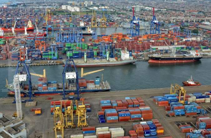 IPCC PSBB berlaku, layanan ekspor-impor di pelabuhan IPCC Tanjung Priok tetap berjalan