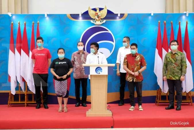 Langkah Gojek Mendukung Kominfo Gaungkan Social Distancing, Perlambat Penyebaran Covid-19 di Indonesia