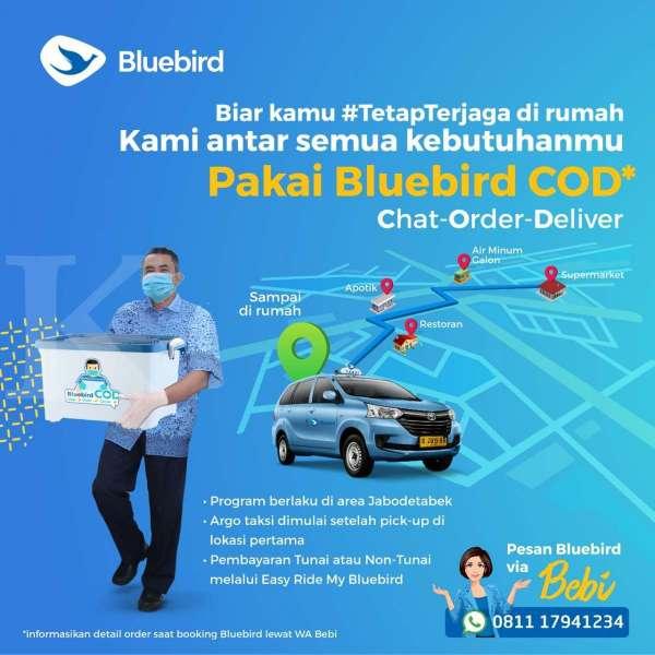Kampanye #Tetapterjaga, Langkah Terbaru Bluebird dalam Hadapi Penyebaran Virus Corona
