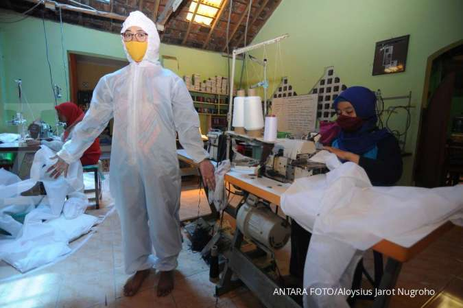 BBYB Atasi corona, Akulaku dan Bank Yudha Bhakti sumbang APD bagi tenaga medis di Jakarta