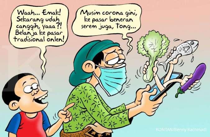 Benny Rachmadi - Pedagang Pasar Jualan Online