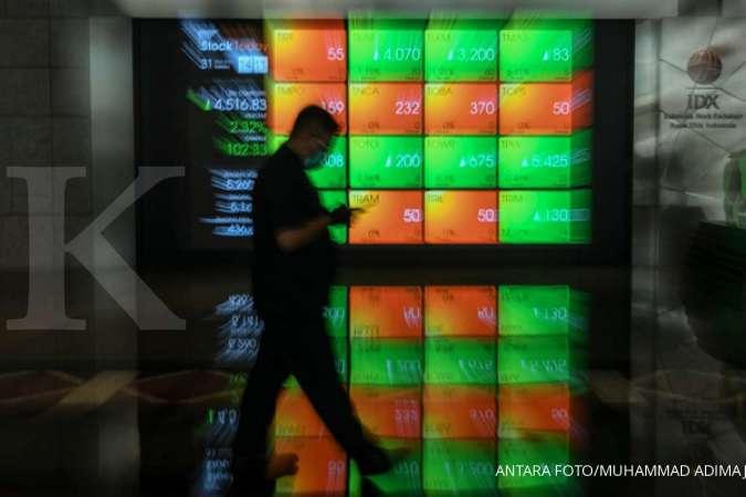 IHSG BBRI IHSG naik 2,02%, tapi saham BBRI masih saja dibuang asing (3/4)