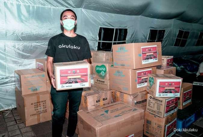 Atasi corona, Akulaku dan Bank Yudha Bhakti sumbang APD bagi tenaga medis di Jakarta