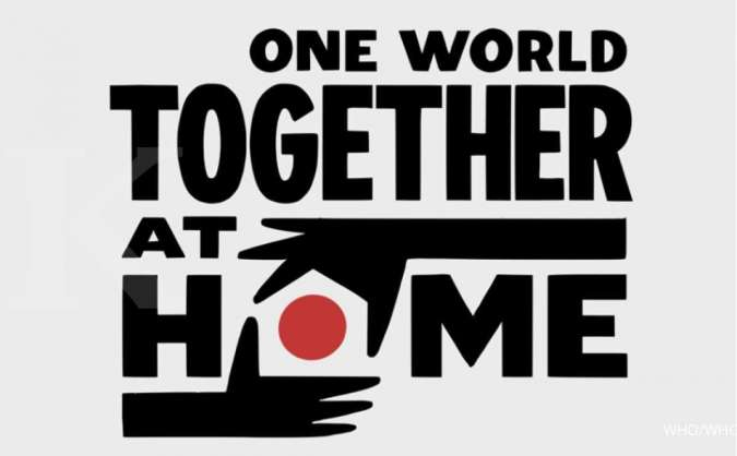 Logo One World Together at Home