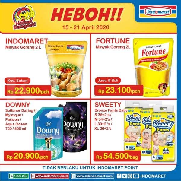 Promo Indomaret Harga Heboh 15-21 April 2020