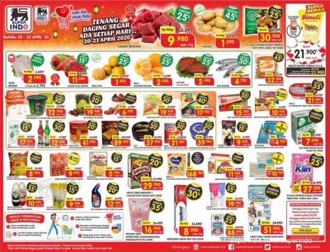 Promo Superindo 20 23 April 2020 Cuma 4 Hari Diskon Minyak Goreng Hingga Daging Ini Daftarnya Tribun Jateng