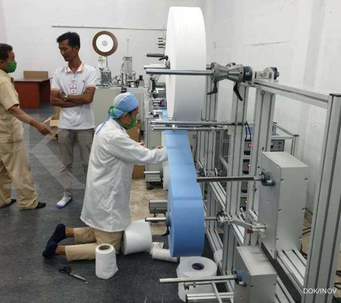 INOV Awal Mei, Inocycle (INOV) bakal produksi masker dengan kapasitas 4 juta pieces