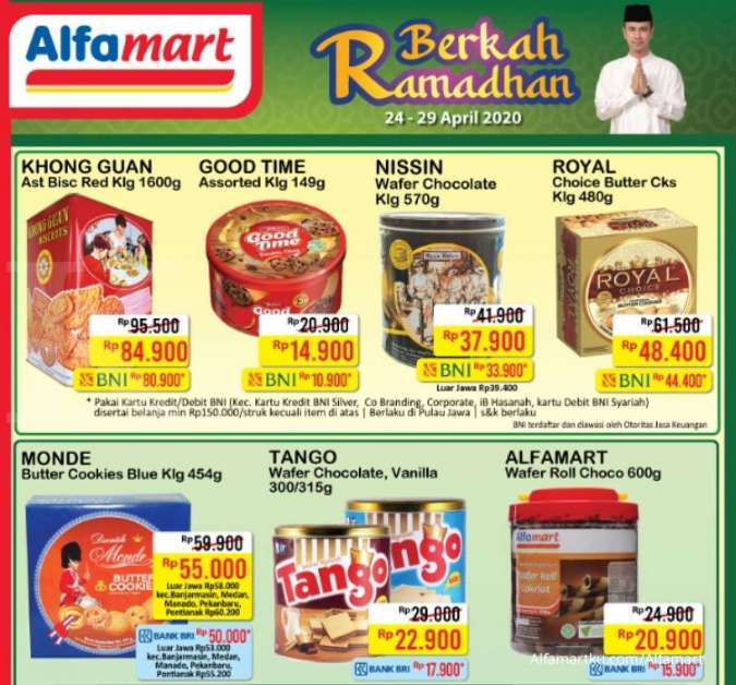Promo Alfamart 24 - 26 April 2020