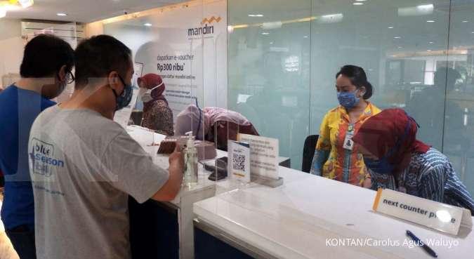 Restrukturisasi kredit berpotensi menekan kinerja Bank Mandiri (BMRI)