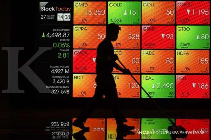 Saham PORT ditutup naik 18,72% di harga Rp 482 pada Selasa 1/12
