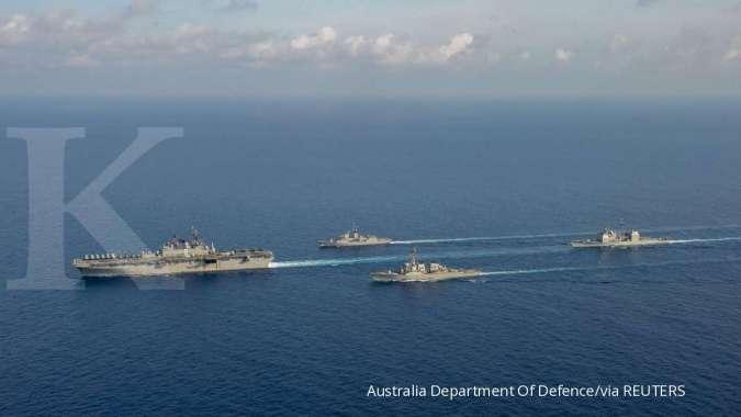 Tiongkok kerahkan pesawat tempur jarak jauh di ata