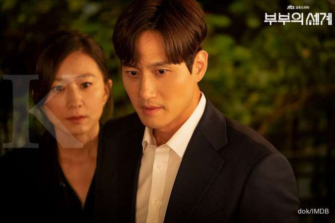 The World of The Married episode 15, keluarga Da Kyung dan Lee Tae Oh hancur?