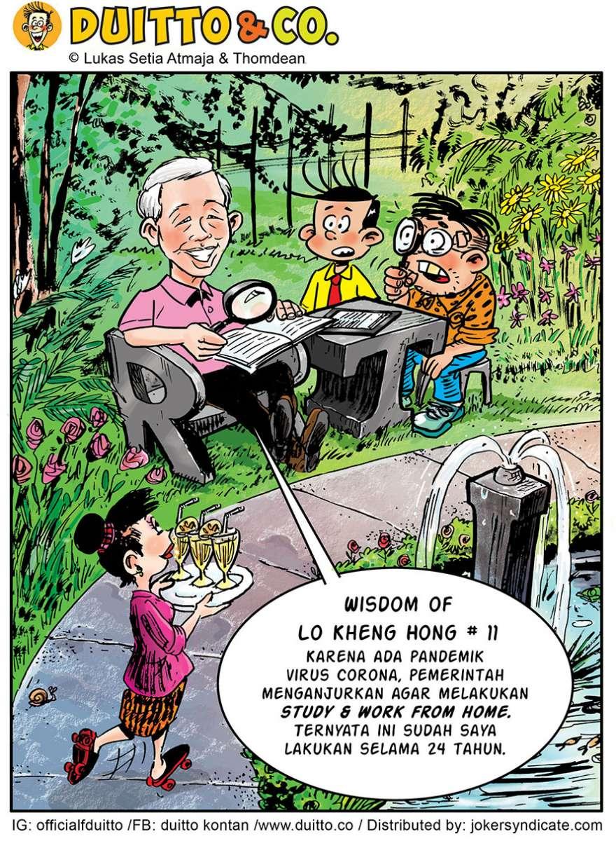 Wisdom of Lo Kheng Hong #11