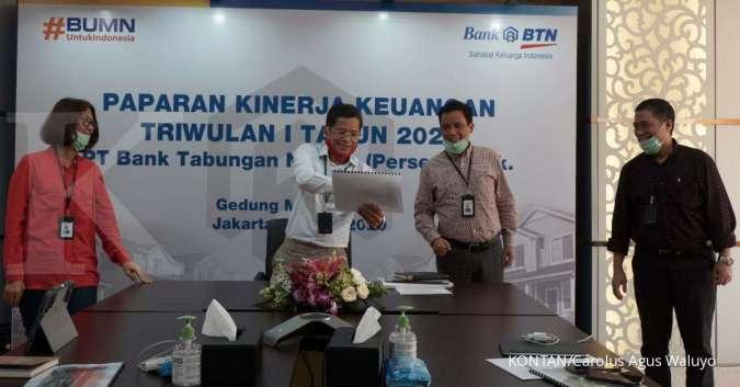 Laba anjlok 36,79 di kuartal I 2020, Bank Tabungan Negara (BBTN) revisi target bisnis