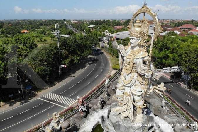 Cuaca besok di Jawa dan Bali: Bandung hujan sedang, Denpasar hujan ringan