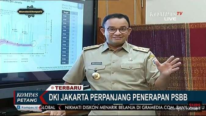 Anies Perpanjang Psbb Dki Jakarta Mulai 22 Mei Sampai 4 Juni 2020