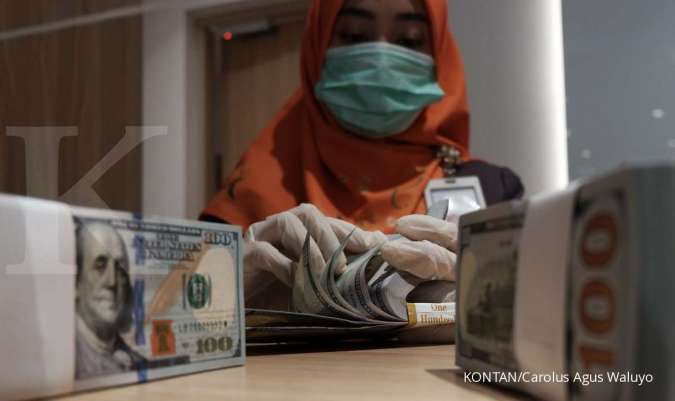 Kurs dollar-rupiah di BCA hari ini Kamis 8 April 2021