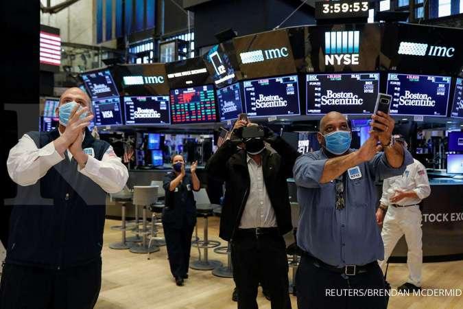 Wall Street menguat tajam, didorong tanda-tanda rebound ekonomi