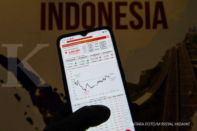 IHSG turun di awal perdagangan Rabu (27/5), saham ICBP masih mentok auto reject bawah