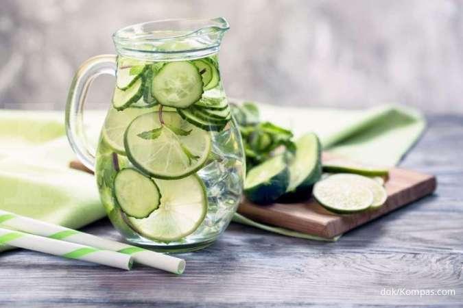 2 Infused water yang efektif menurunkan tekanan darah tinggi