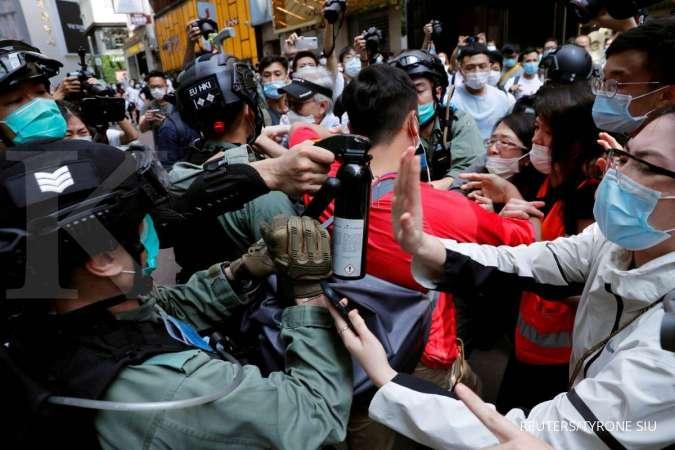 Resmi sudah! China sahkan hukum keamanan nasional Hong Kong dengan suara bulat - Internasional Kontan