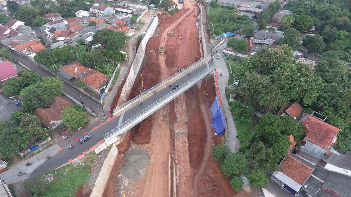 Pembayaran dana talangan tanah proyek tol