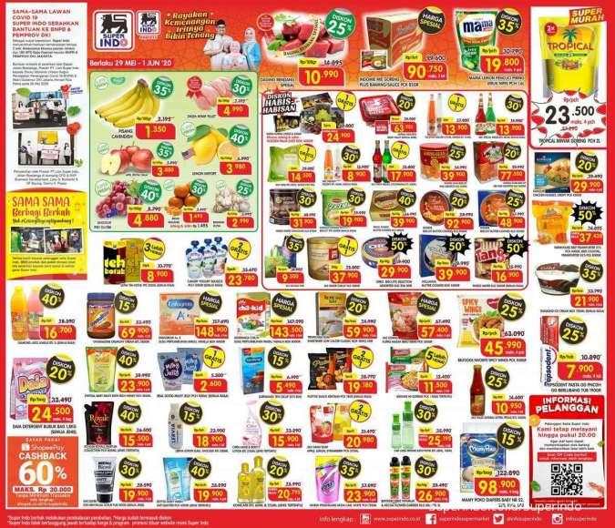 Katalog promo Superindo 29 Mei-1 Juni 2020