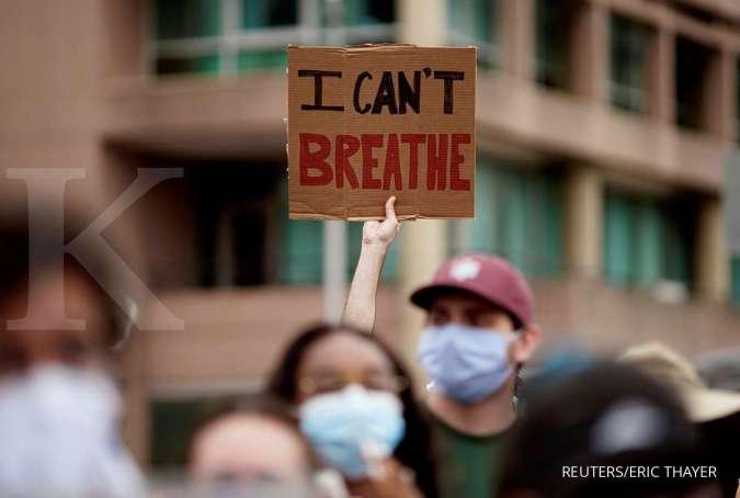 Demonstrasi kematian George Floyd di AS meluas ke