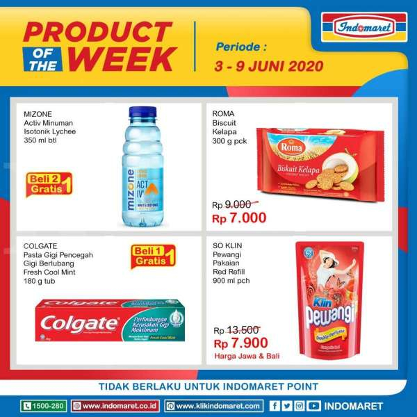 Promo Produck of The Week