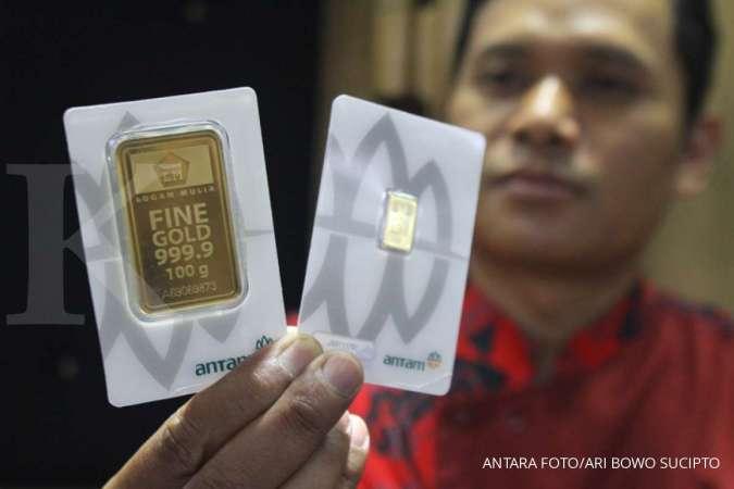 Harga Emas Hari Ini 27 10 Di Butik Emas Tetap Rp 1 007 000 Per Gram