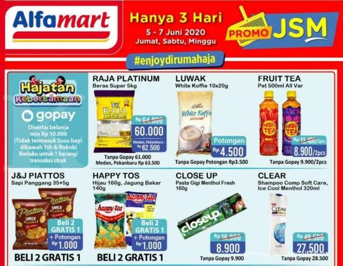 Promo JSM Alfamart 5-7 Juni 2020