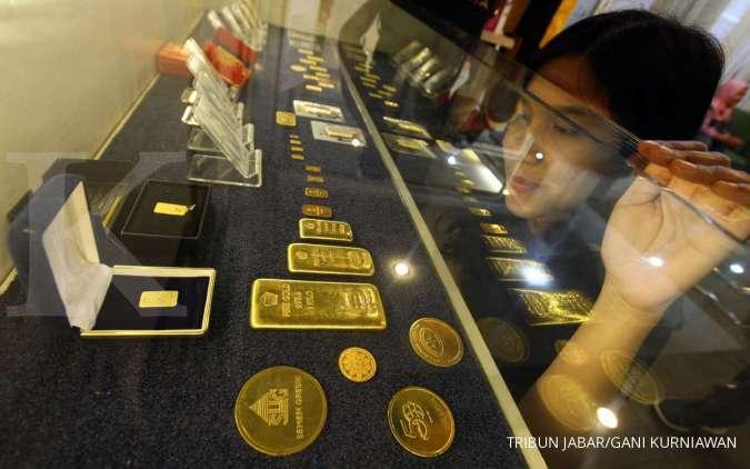 Harga Emas 24 Karat Antam Hari Ini Naik Rp 12 000 Per Gram Sabtu 18 Juli 2020