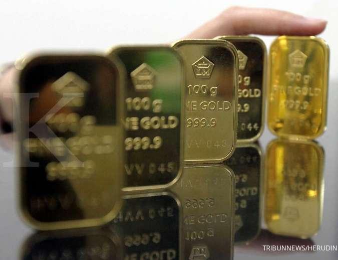 Bertahan di Rp 953.000, simak harga emas Antam untuk hari ini (26/11)