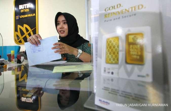 Harga emas Antam terbang, ini alamat Butik Emas Logam Mulia Antam terdekat - Personal Finance Kontan