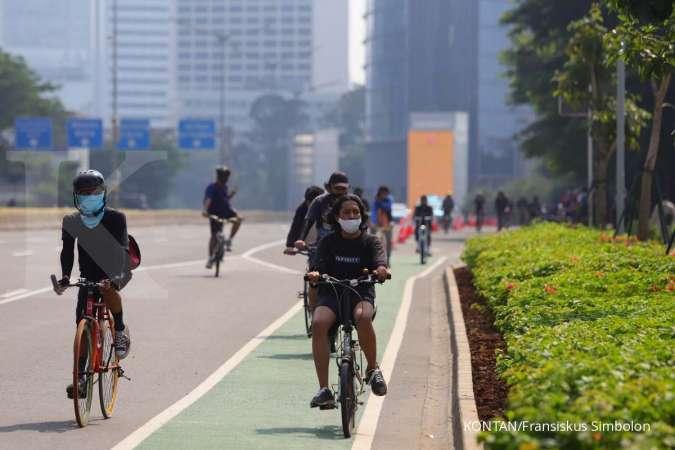 Ingat, pengendara motor yang masuk ke jalur sepeda didenda Rp 500.000